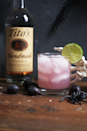 <p><strong>Ingredients</strong></p><p>1.5 oz Tito's Handmade Vodka<br>.5 oz simple syrup<br>1.5 oz tonic<br>Juice of 1 lime<br>5 grapes</p><p><strong>Instructions</strong></p><p>Muddle grapes in a shaker. Add vodka, simple syrup, lime, and ice, then shake vigorously. Strain over fresh ice and top with tonic water. </p>