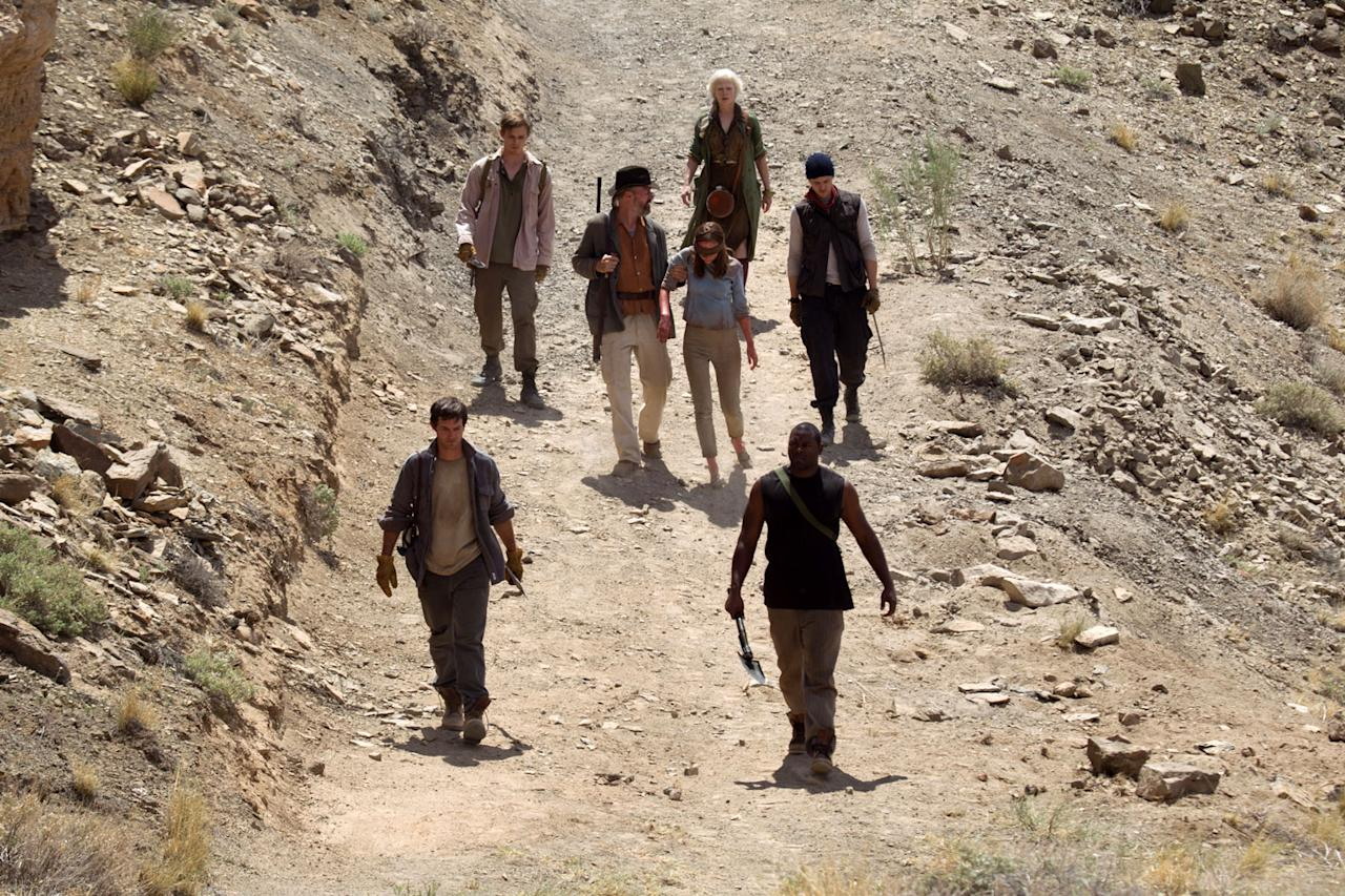 """William Hurt and Saoirse Ronan in Open Road Films' """"The Host"""" - 2013"""