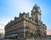 "<p>One of Edinburgh's two great railway hotels, its clocktower (traditionally set a few minutes fast) still dominates Princes Street. <a href=""https://go.redirectingat.com?id=127X1599956&url=https%3A%2F%2Fwww.booking.com%2Fhotel%2Fgb%2Fthe-balmoral-edinburgh.en-gb.html%3Faid%3D1922306%26label%3Dstaycation-uk&sref=https%3A%2F%2Fwww.goodhousekeeping.com%2Fuk%2Flifestyle%2Ftravel%2Fg34842793%2Fstaycation-uk%2F"" rel=""nofollow noopener"" target=""_blank"" data-ylk=""slk:The Balmoral"" class=""link rapid-noclick-resp"">The Balmoral</a> has everything you could desire from a grand hotel, including a fabulous Michelin-starred restaurant, a French brasserie and the prettiest tea salon in the city (complete with harp player). </p><p>Be pampered in the indulgent spa, take a dip in the 15-metre pool or check out the impressively stocked SCOTCH Whisky Bar. It's got every service imaginable, not to mention 167 stylish bedrooms (and 20 suites). With staff that are both peerless and personal, don't worry about the size, just feel the luxury. </p><p><a href=""https://www.goodhousekeepingholidays.com/offers/edinburgh-balmoral-hotel"" rel=""nofollow noopener"" target=""_blank"" data-ylk=""slk:Read our hotel review of The Balmoral here"" class=""link rapid-noclick-resp"">Read our hotel review of The Balmoral here</a></p><p><a class=""link rapid-noclick-resp"" href=""https://go.redirectingat.com?id=127X1599956&url=https%3A%2F%2Fwww.booking.com%2Fhotel%2Fgb%2Fthe-balmoral-edinburgh.en-gb.html%3Faid%3D1922306%26label%3Dstaycation-uk&sref=https%3A%2F%2Fwww.goodhousekeeping.com%2Fuk%2Flifestyle%2Ftravel%2Fg34842793%2Fstaycation-uk%2F"" rel=""nofollow noopener"" target=""_blank"" data-ylk=""slk:CHECK AVAILABILITY"">CHECK AVAILABILITY </a></p>"