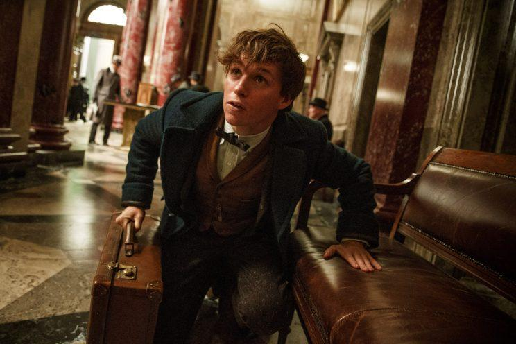 Newt Scamander (Eddie Redmayne) hunting for his fantastic beasts (Photo: Warner Bros.)