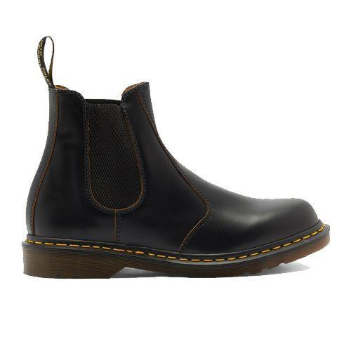 """<p><a class=""""link rapid-noclick-resp"""" href=""""https://go.redirectingat.com?id=127X1599956&url=https%3A%2F%2Fwww.matchesfashion.com%2Fproducts%2FDr-Martens-Vintage-2976-leather-Chelsea-boots-1374927&sref=https%3A%2F%2Fwww.esquire.com%2Fuk%2Fstyle%2Fshoes%2Fg30456077%2Fbest-chelsea-boots%2F"""" rel=""""nofollow noopener"""" target=""""_blank"""" data-ylk=""""slk:SHOP"""">SHOP</a></p><p>You can't beat a pair of Dr Martens. A piece of advice from your friendly neighbourhood Chelsea boots fan, is you need to dedicate some time to wearing these in. Once softened though, they quickly become your favourite pair of shoes. Crafted on a Goodyear-welted rubber sole as well of course.</p><p>Vintage 2976 leather Chelsea boots, £190, <a href=""""https://go.redirectingat.com?id=127X1599956&url=https%3A%2F%2Fwww.matchesfashion.com%2Fproducts%2FDr-Martens-Vintage-2976-leather-Chelsea-boots-1374927&sref=https%3A%2F%2Fwww.esquire.com%2Fuk%2Fstyle%2Fshoes%2Fg30456077%2Fbest-chelsea-boots%2F"""" rel=""""nofollow noopener"""" target=""""_blank"""" data-ylk=""""slk:matchesfashion.com"""" class=""""link rapid-noclick-resp"""">matchesfashion.com</a></p>"""