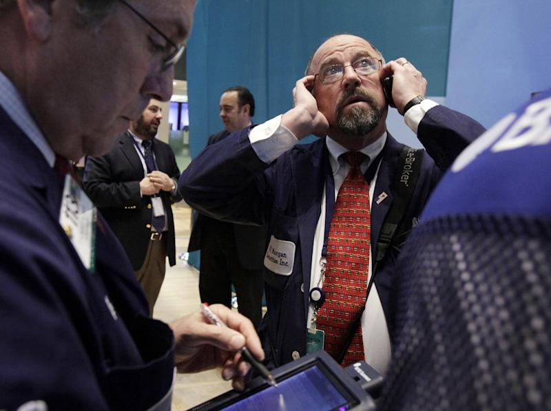 Stocks lower as investors watch Washington