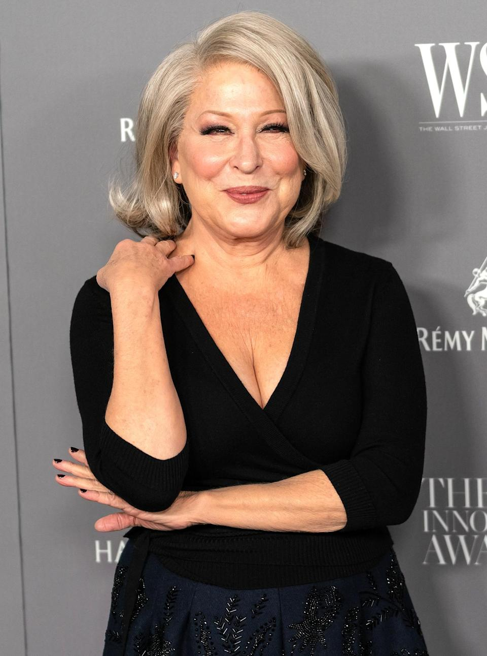 """<p>needs an Oscar, having already won Emmys for outstanding performance in a variety or music program, Grammys for best new artist, best pop vocal performance (for """"The Rose"""") and record of the year (for """"Wind Beneath My Wings), a Tony for best actress in a musical (<em>Hello, Dolly!</em>) and the Special Tony Award for her contributions to Broadway.</p>"""