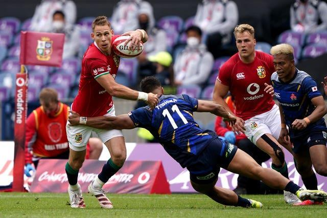 Liam Williams (left) has almost recovered from concussion