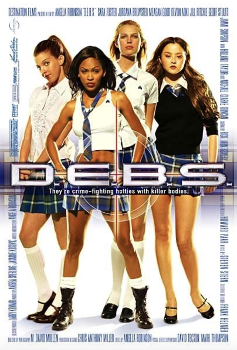 "<p>A comedic send-up of the <em>Charlie Angels </em>franchise, D.E.B.S. centers around the unlikely love story between the leader of an elite group of co-ed spies and a supervillain. You don't have to know the original story to love this fun, flirty romp.</p><p><a class=""link rapid-noclick-resp"" href=""https://www.amazon.com/D-B-S-Sarah-Foster/dp/B000I8JEQK?tag=syn-yahoo-20&ascsubtag=%5Bartid%7C10055.g.35217644%5Bsrc%7Cyahoo-us"" rel=""nofollow noopener"" target=""_blank"" data-ylk=""slk:STREAM NOW"">STREAM NOW</a></p>"
