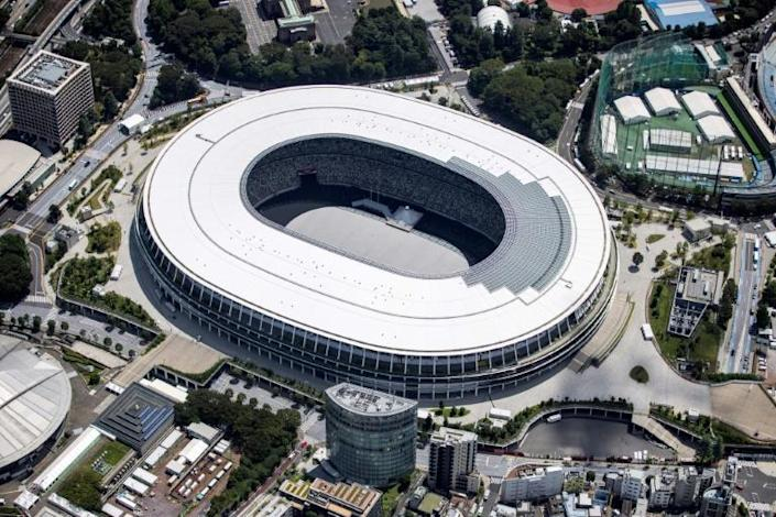 Tokyo's Olympic Stadium will be mostly empty for the opening ceremony on Friday