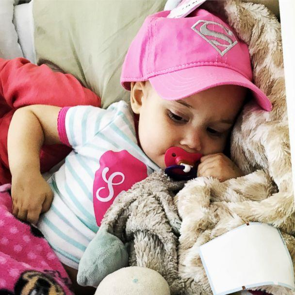 PHOTO: Sophie Skiles, 2, is undergoing treatment for T-cell lymphoma at Children's Medical Center Dallas. (Shelby Skiles)