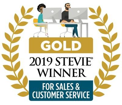 Spinnaker Support won the Gold Stevie award for Devan Brua's role as Customer Service Leader of the Year.