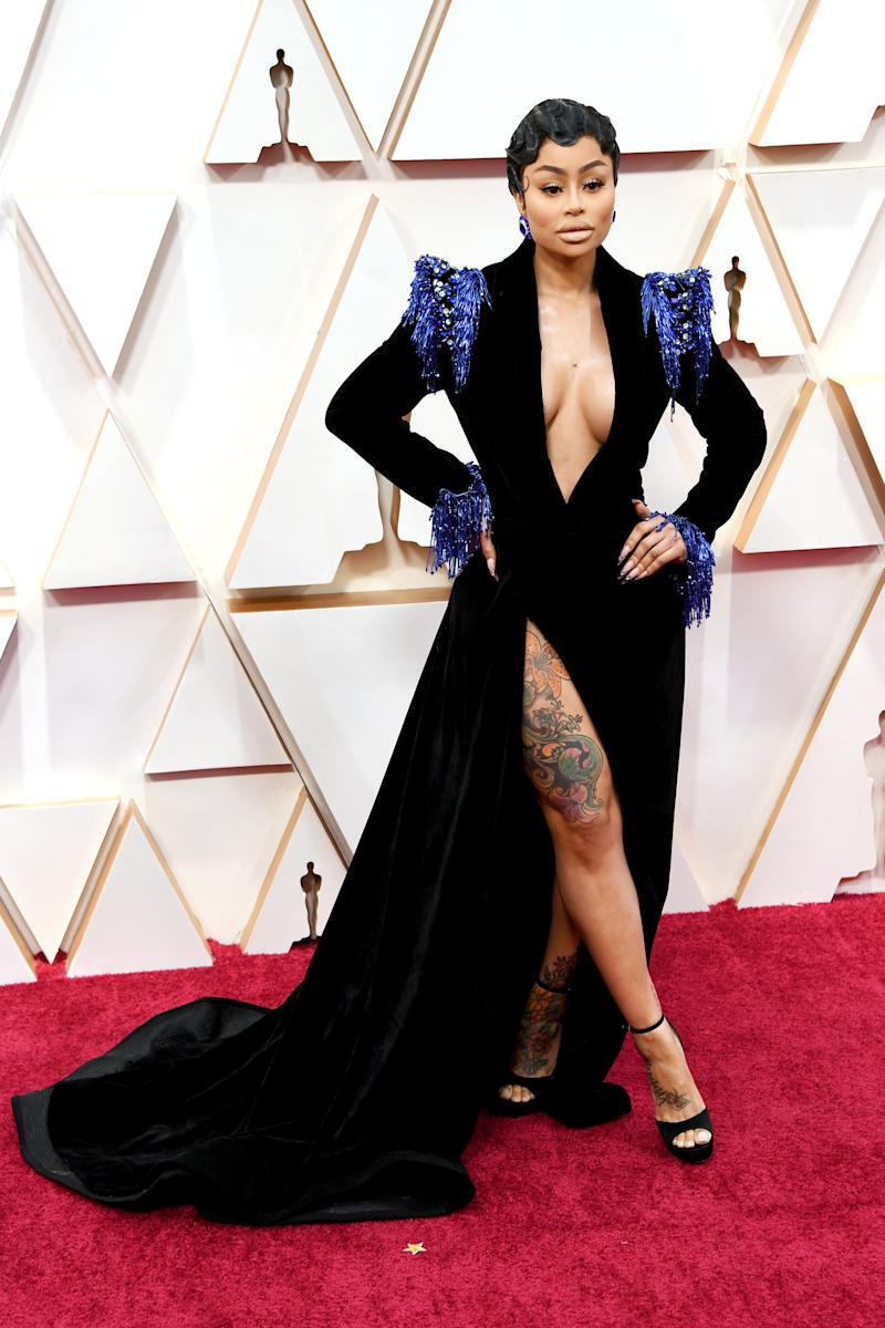 Blac Chyna attends the 92nd Annual Academy Awards at Hollywood and Highland on February 09, 2020 in Hollywood, California.