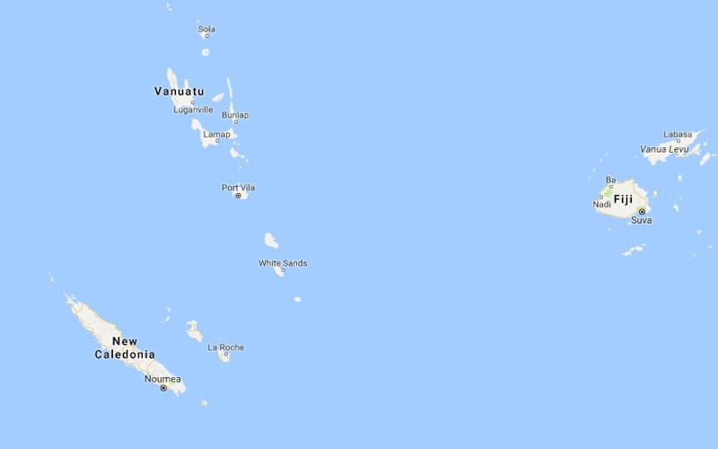 A magnitude 7.0 quake struck east of New Caledonia in the South Pacific