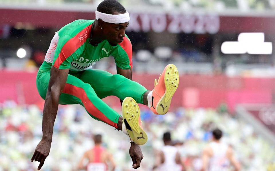 Pedro Pichardo hopped, skipped and jumped his way to gold - AFP