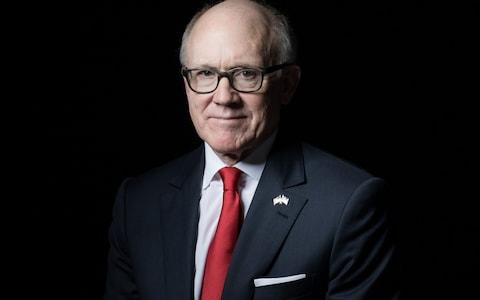Woody Johnson, owner of the New York Jets and U.S. ambassador to the U.K - Credit: Jason Alden/Bloomberg