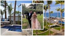 <p>This is the lavish five-star resort with a gorgeous chapel overlooking the dazzling Sea of Cortez where Karl Stefanovic and his fiancée Jasmine Yarbrough are getting married on Saturday.<br>Source: One&Only/Instagram/JasmineYarbrough </p>