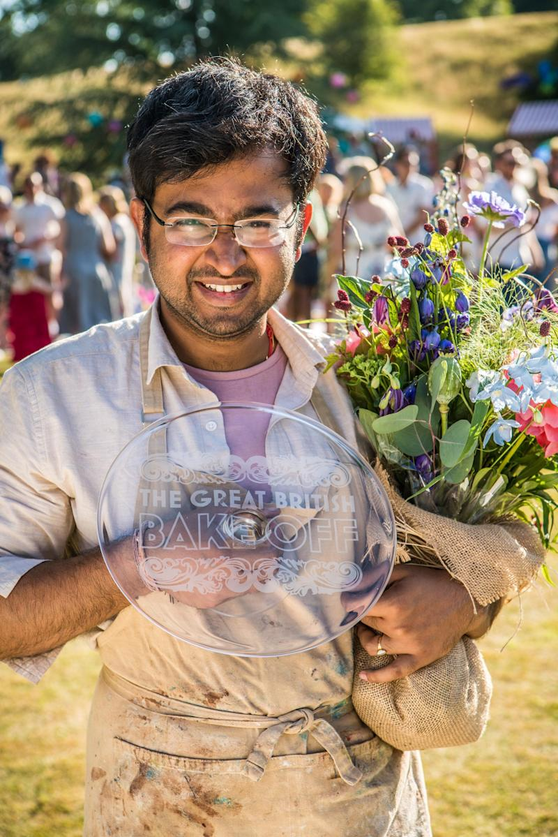 Bake Off winner Rahul urges more men to take up 'science ...