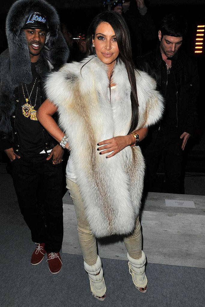 Kim Kardashian has been accused of wearing real fur [Photo: Getty]