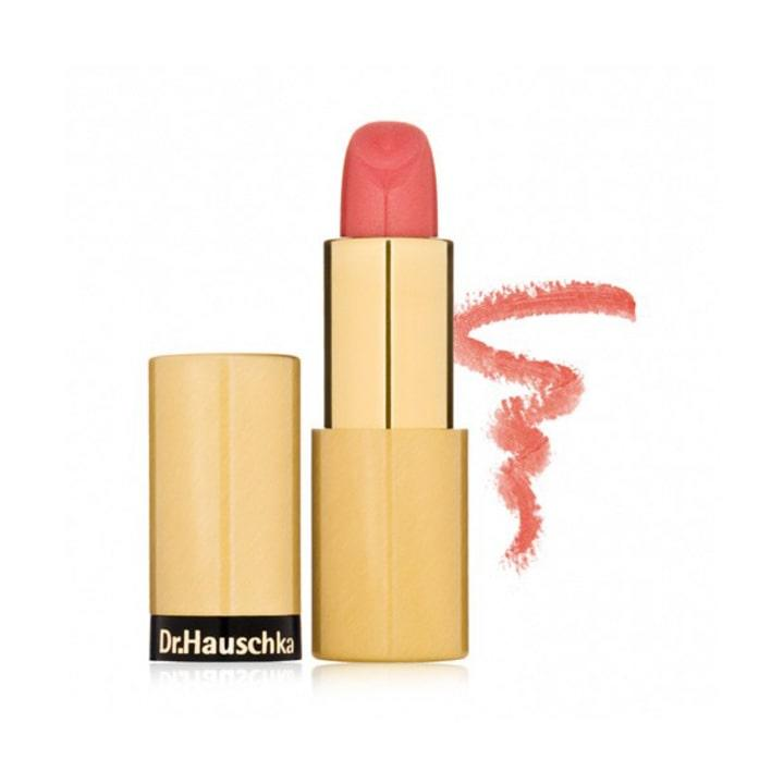Dr. Hauschka Lipstick in Iridescent Bronze, $25; at DermStore