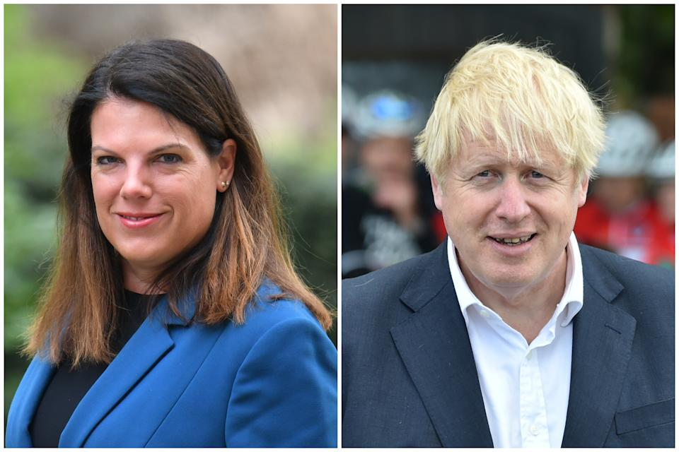 Women and equalities committee chair Caroline Nokes has said Boris Johnson doesn't take women seriously.