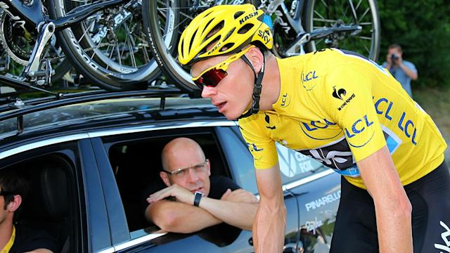 Team Sky and Dave Brailsford have come under fire, but Chris Froome spoke out in their defence on Tuesday.