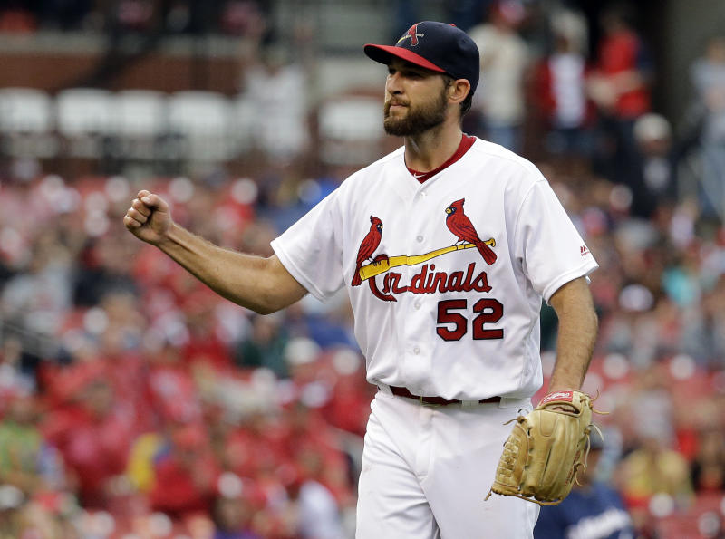 Michael Wacha Pitching