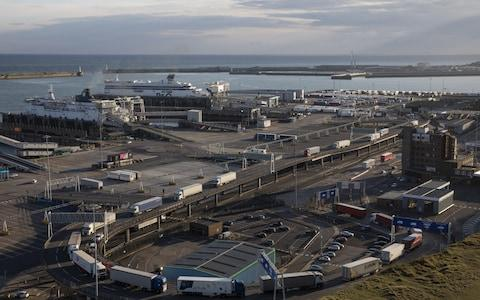 Dover Brexit Port travel driving to Europe  - Credit: Dan Kitwood /Getty images Europe