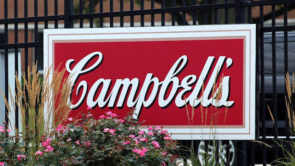 CAMDEN, NJ - JULY 17: A sign at the entrance to the Campbell Soup Company World Headquarters in Camden, New Jersey on July 17, 2017.
