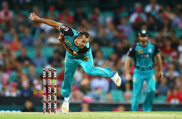 Josh Lalor's accuracy has seen him race to the top of the Heat wicket-taking tally.