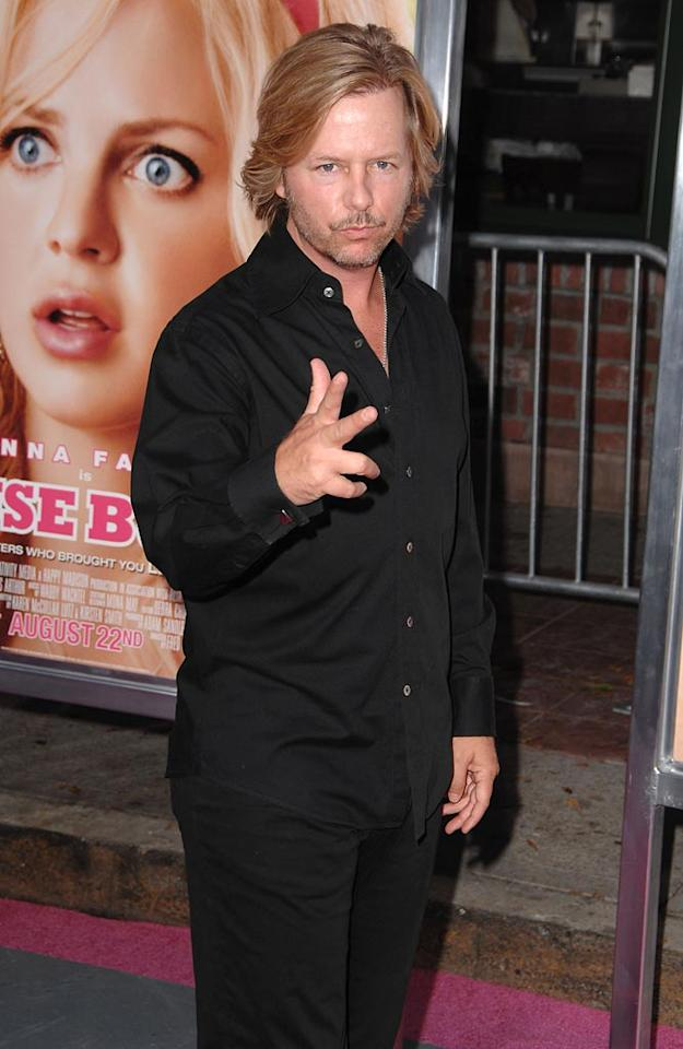 "<a href=""http://movies.yahoo.com/movie/contributor/1800019136"">David Spade</a> at the Los Angeles Premiere of <a href=""http://movies.yahoo.com/movie/1809921361/info"">The House Bunny</a> - 08/20/2008"