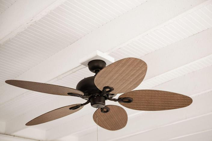 <p>Spring cleaning is all about tackling the areas you forget about during the rest of the year. Grab an extendable duster and attack ceiling fans, hanging and recessed lights, moldings, and more. </p>