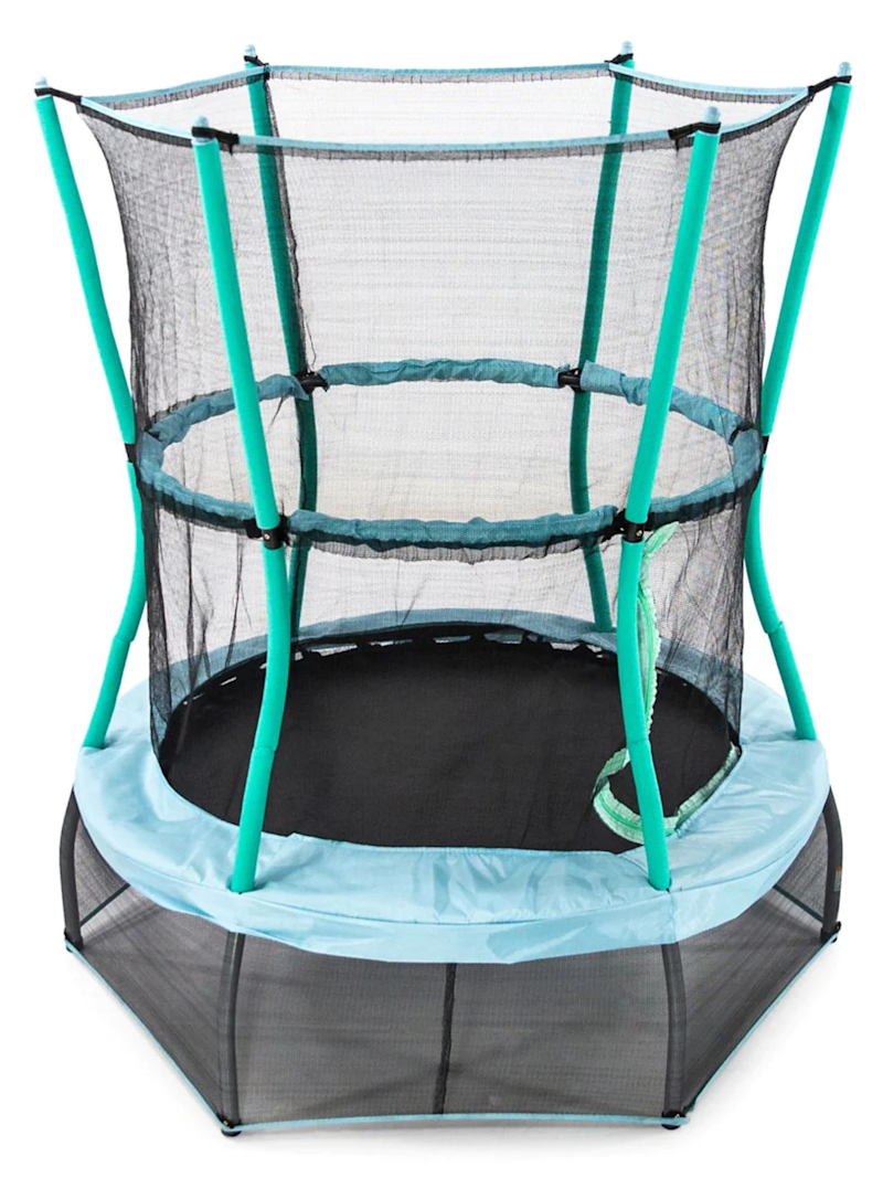 Skywalker Trampolines 48-Inch Classic Trampoline Mini Bouncer. Image via Hudson's Bay.