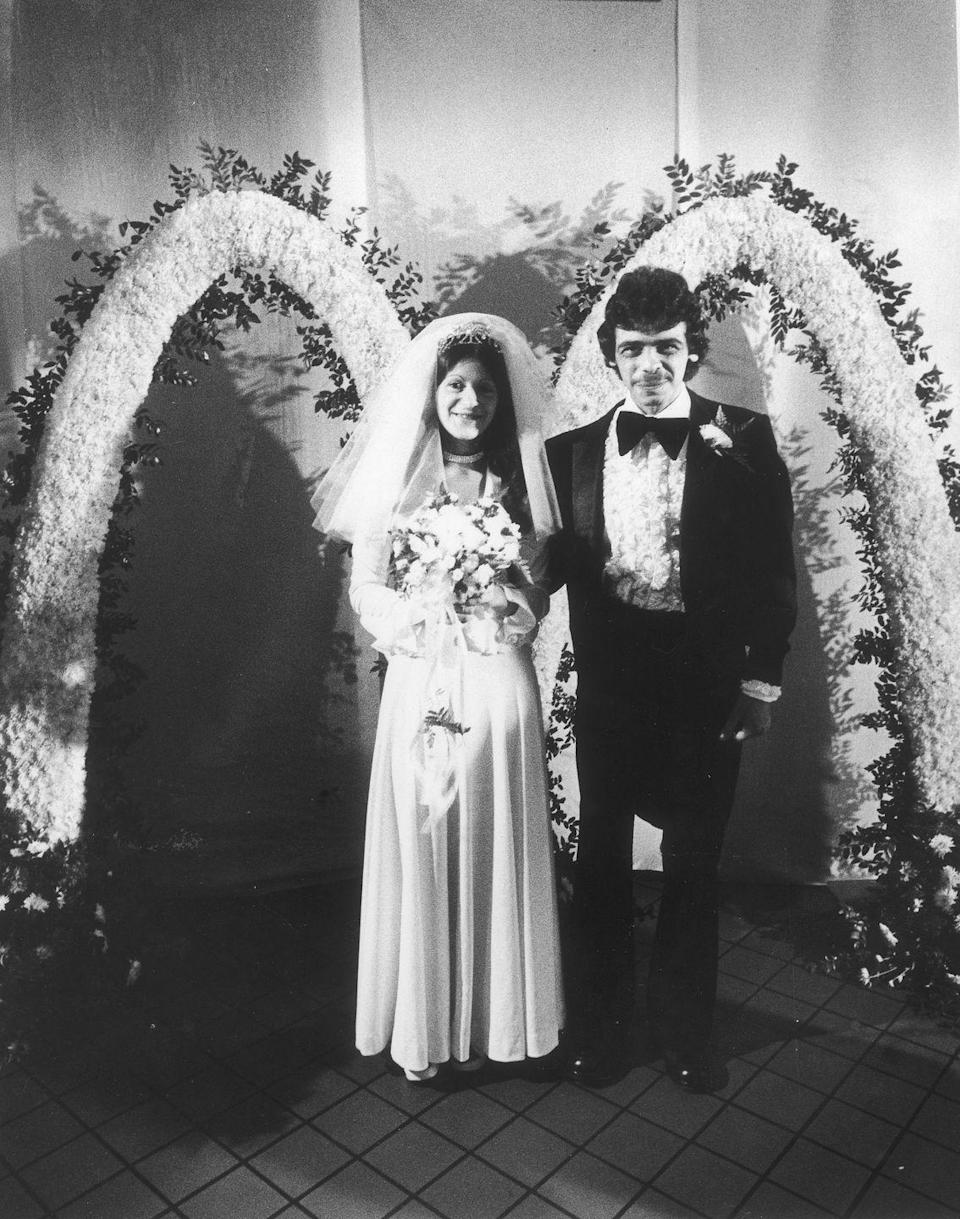 <p>McDonald's employee Annette Scaramozza married Anthony Francis in a McDonald's restaurant in east Boston. She wanted to host the nuptials there so she could share the day with her fellow employees. If we're being honest, those flower arches are everything.</p>