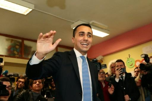 Anti-establishment leader Luigi Di Maio said he was prepared to propose a compromise candidate for economy minister