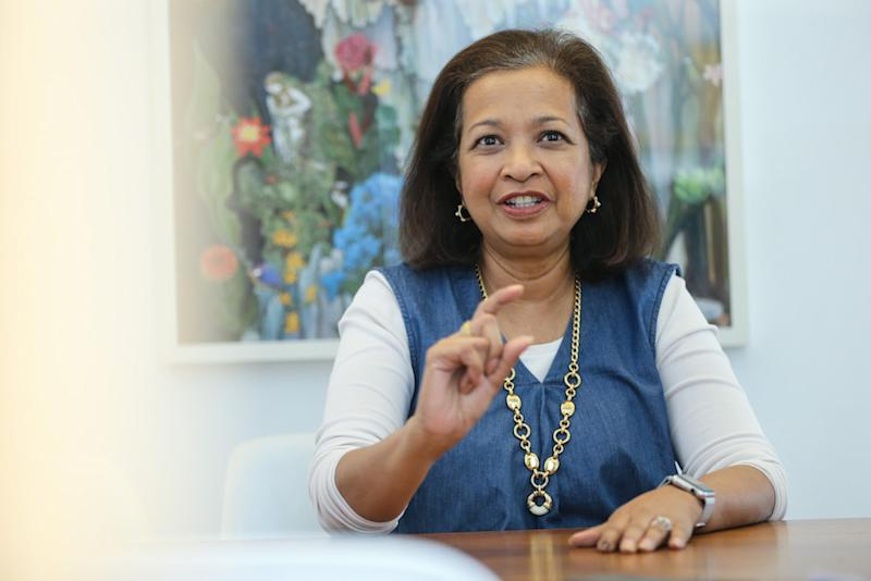 Datin Paduka Marina Mahathir says her father, Prime Minister Tun Dr Mahathir Mohamad, was not an ordinary 92-year-old. — Picture by Ahmad Zamzahuri