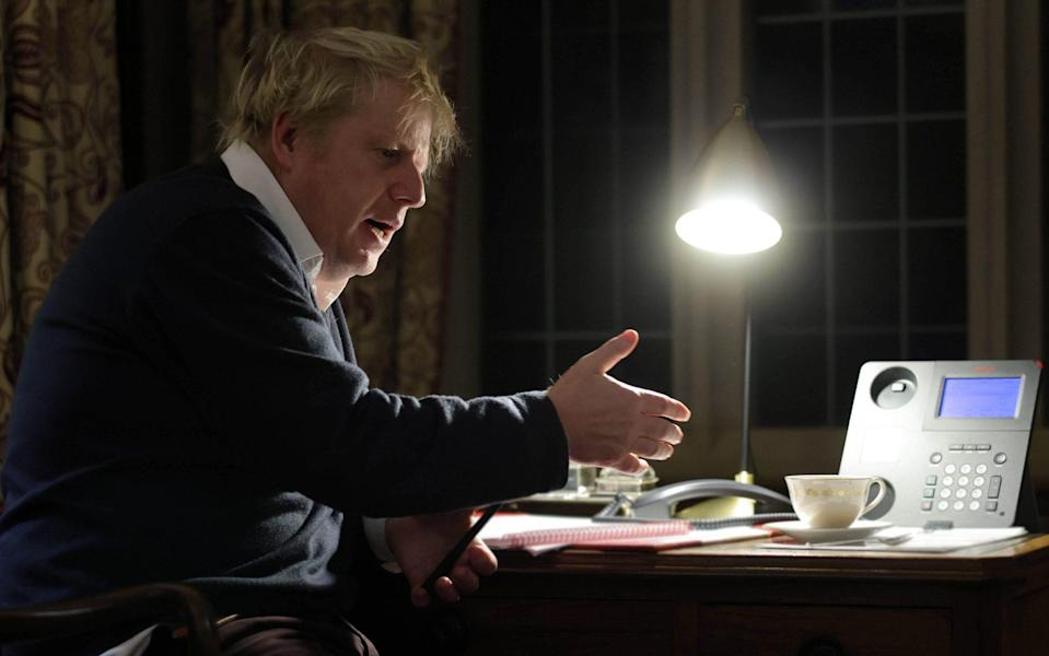 Boris Johnson and Ursula von der Leyen had a crucial phone conversation on Saturday as they sought to secure a deal ahead of Britain's departure from the EU - Andrew Parsons/No 10 Downing Street