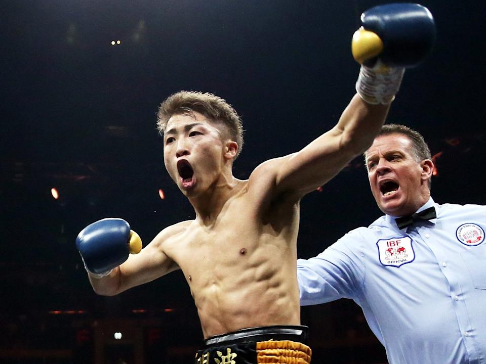 <p>Inoue is one of the most entertaining fighters in the world</p>EPA