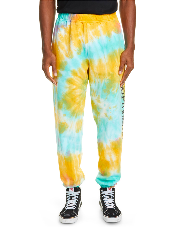 "Shopping for him? A sleek pair of tie-dye sweatpants is a no-brainer for the post-grad veg-out. $255, Nordstrom. <a href=""https://shop.nordstrom.com/s/aries-no-problemo-tie-dye-sweatpants/5490967"" rel=""nofollow noopener"" target=""_blank"" data-ylk=""slk:Get it now!"" class=""link rapid-noclick-resp"">Get it now!</a>"