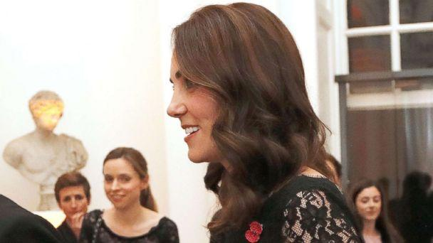 PHOTO: Kate Middleton attends the 2017 Gala Dinner for The Anna Freud National Centre for Children and Families (AFNCCF), in The Orangery at Kensington Palace in London, Nov. 7, 2017. (Frank Augstein - WPA Pool/Getty Images)