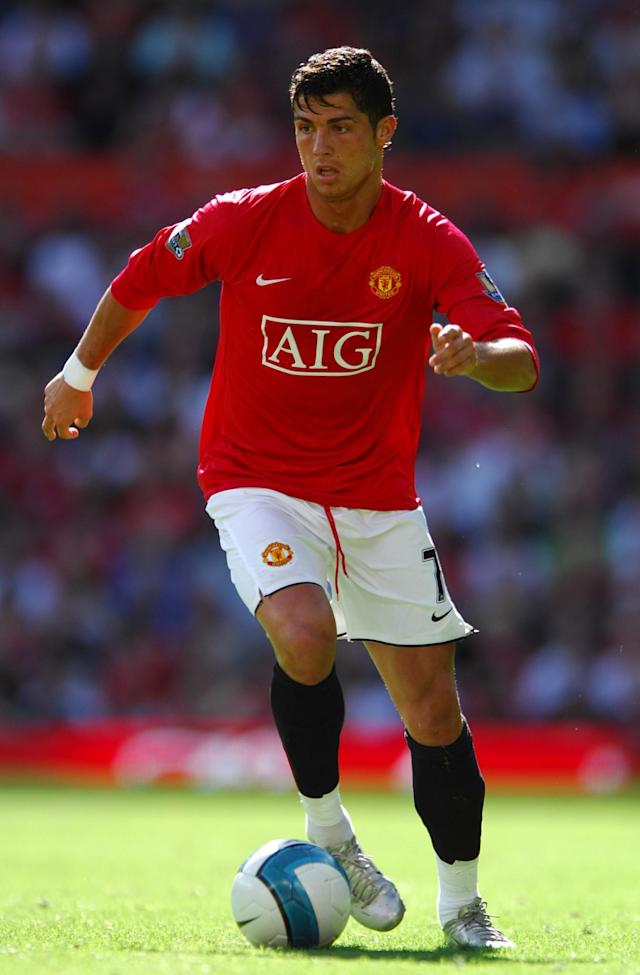 <p>In his his last season with Manchester United the Portuguese won the Golden Boot with 31 goals in 34 games as the Reds claimed the title again. </p>