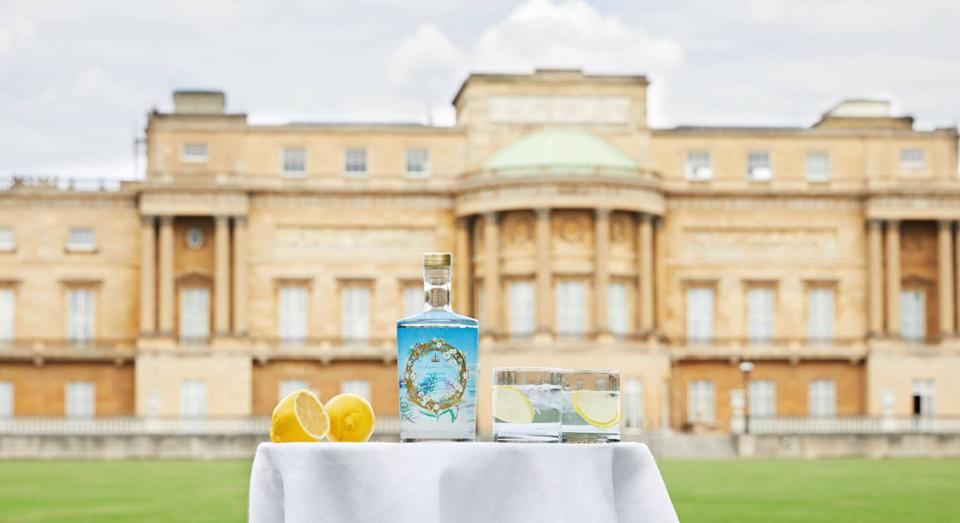 Buckingham Palace launches gin created from the Queen's home-grown ingredients. (PA)