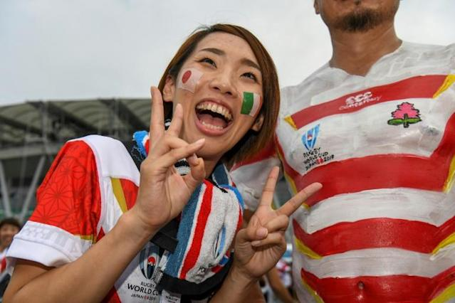 Replica shirts flew off the shelves (AFP Photo/William WEST)