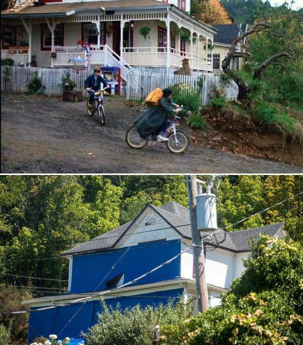 <p>Beloved '80s action comedy <em>The Goonies</em> had thousands of fans heading to Astoria, Oregon to see the iconic home you need to do the truffle shuffle to enter. At first, owner Sandi Preston was fine with the attention but when up to 1,500 people started showing up every day she eventually wrapped her house in blue tarpaulin and shut herself off from the world. </p>