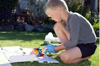 """<p>There's nothing kids love more than making a mess, so why not make a party out of it? This party concept is the perfect excuse for boys to get down and dirty with their favorite, messy activities, and crafts. <a href=""""https://www.youtube.com/watch?v=wavrRQCIbXc"""" rel=""""nofollow noopener"""" target=""""_blank"""" data-ylk=""""slk:Make tie-dye shirts"""" class=""""link rapid-noclick-resp"""">Make tie-dye shirts</a>, finger paint, and let them go wild with slime. Just make sure you alert the parents so they don't dress their child in their best clothes that day. </p>"""