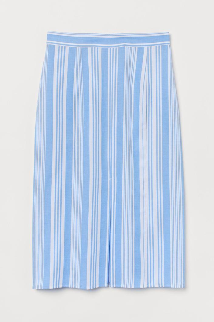 <p>This <span>Lyocell-blend Skirt</span> ($25) is a lightweight pick for a warm summer day.</p>