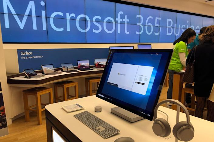 China Microsoft Exchange (Copyright 2020 The Associated Press. All rights reserved)