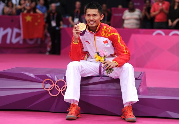 "Lin Dan has become ""Super-Dan"" in the Chinese media for successfully defending his badminton 
