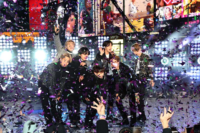 BTS Successfully Counted Down to 2020 at Dick Clark's New Year's Rockin' Eve