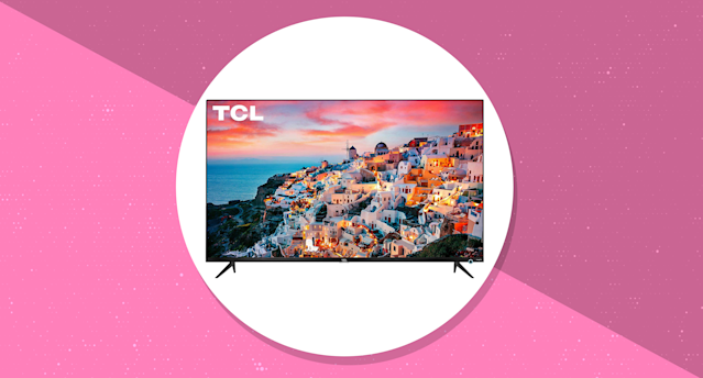 Save $650 on this TCL 65-inch 4K TV. (Photo: Amazon/Yahoo Lifestyle)