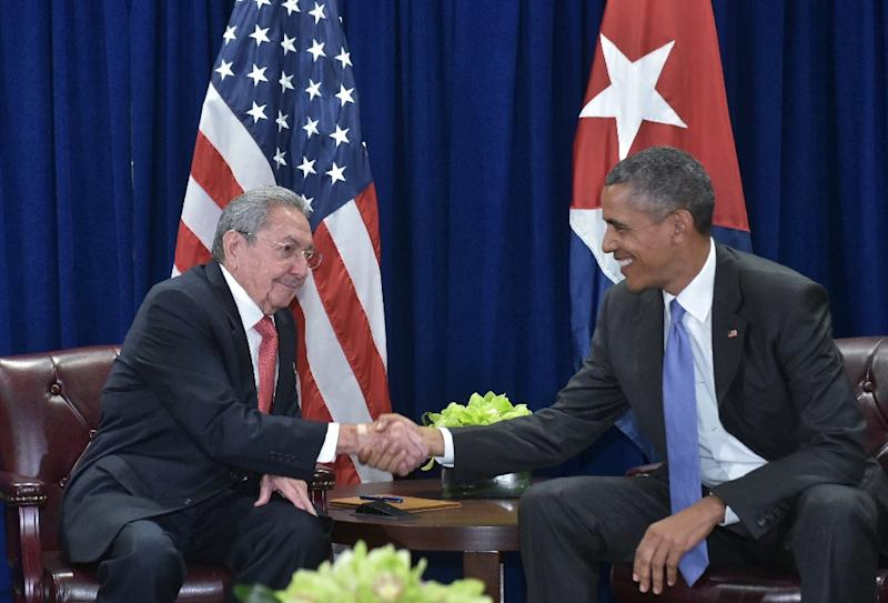 "With US-Cuba relations evolving in the wake of a rapprochement announced in December 2014 by presidents Barack Obama (R) and Raul Castro, a dozen US congressmen on December 16 2015 launched a ""Cuba working group"" in the House of Representatives"