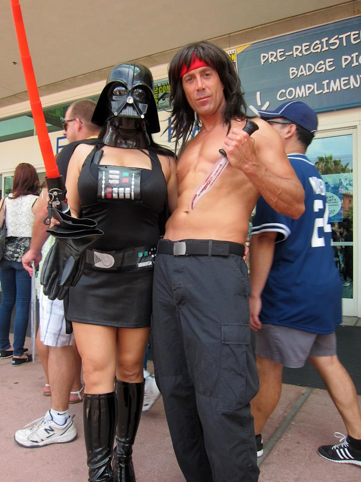 Rambo has joined the Dark Side - San Diego Comic-Con 2012