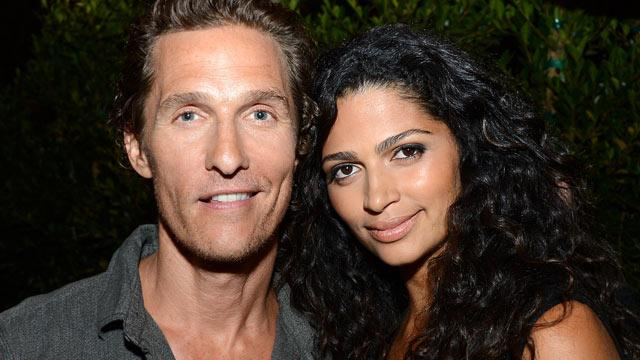 McConaughey, Wife Welcome Baby
