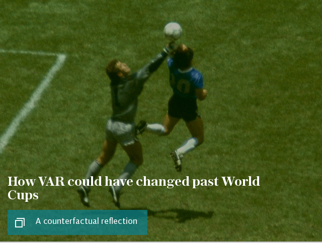 How VAR could have changed past World Cups